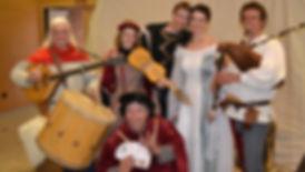 Mariage médiévale avec les Troubadours d'Aliénor