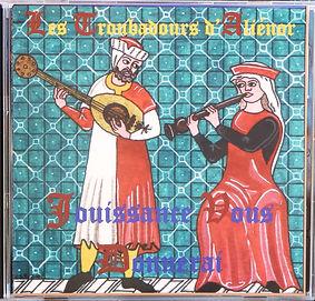 Cd musique médiévale des Troubadours d'Aliénor