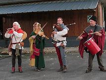 Musique festive des troubadours et ménestrels