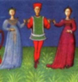 Tableau danse médiévale