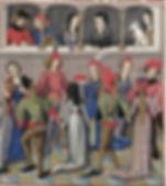 A la cour d'Aliénor danse médiévale