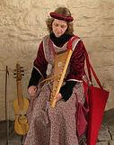 Ludivine Pauwels musique médiévale au psaltérion