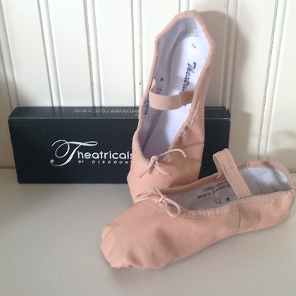 Ballet Slippers (Girls & Boys- black available)