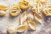 Fersk hjemmelaget pasta