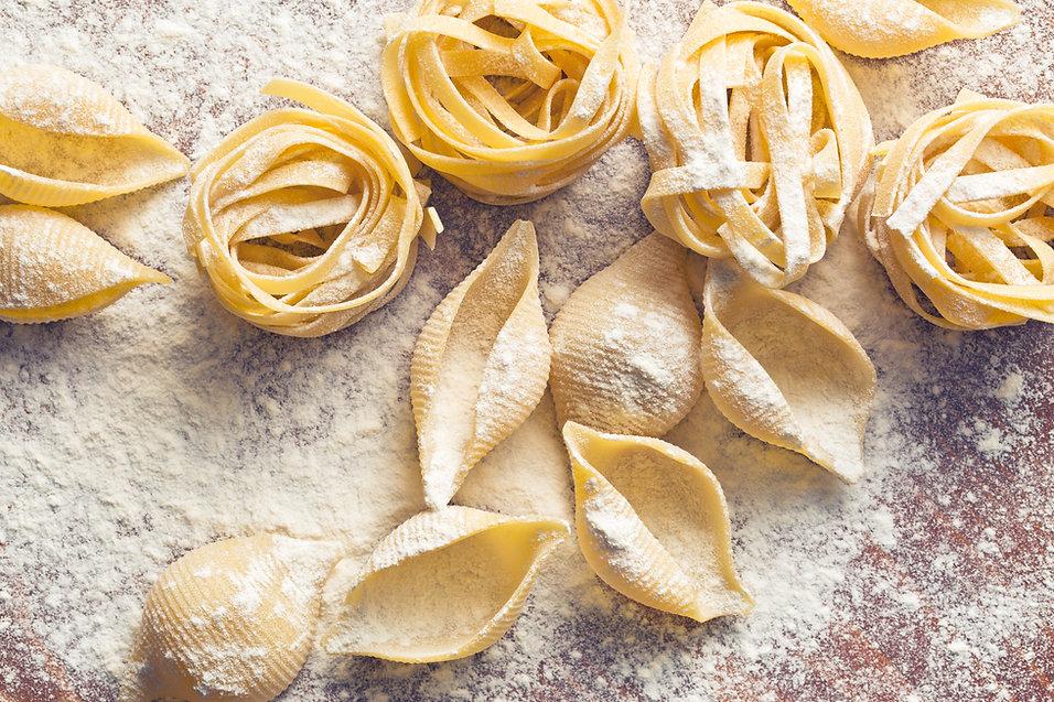 Pasta fresca hecha en casa