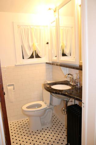 Bathroom (newly renovated)