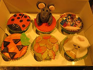 Herfst cupcakes versieren.jpg