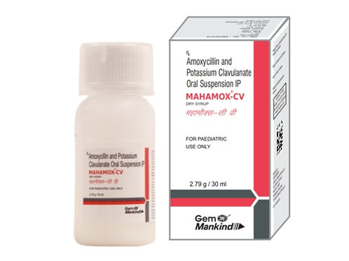 MAHAMOX-CV / Amoxycillin & Potassium Clavulanate Oral Suspension IP