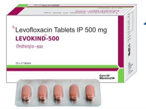 LEVOKIND 500 / Levofloxacin Tablets IP 500mg
