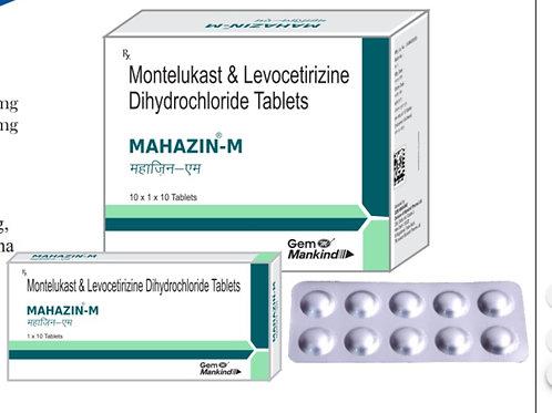 MAHAZIN-M / Montelukast & Levocetirizine Dihydrochloride Tablets