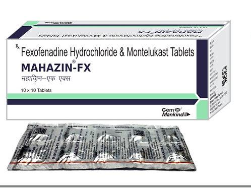 MAHAZIN-FX / Fexofenadine Hydrochloride & Montelukast Tablets