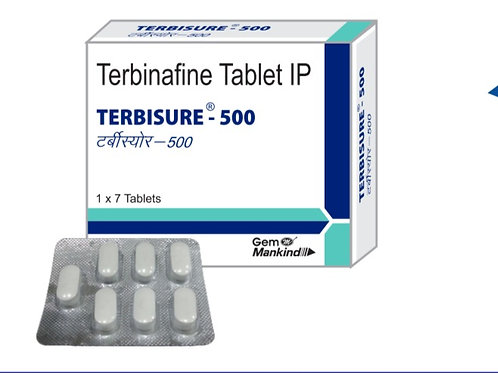 TERBISURE-500 / Terbinafine Tablet IP