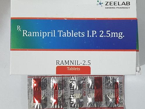Ramipril Tablets I.P. 2.5mg.