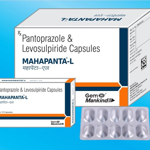 MAHAPANTA-L / Pantoprazole & Levosulpiride Capsules