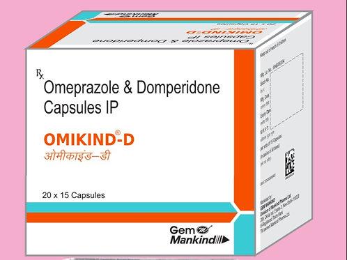 OMIKIND-D / Omeprazole & Domperidone Capsules IP