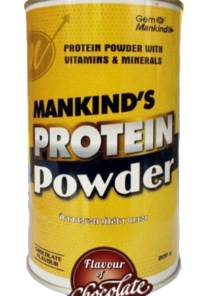 MANKIND'S PROTEIN POWDER With Vitamins & Minerals (Chocolate Flavour)