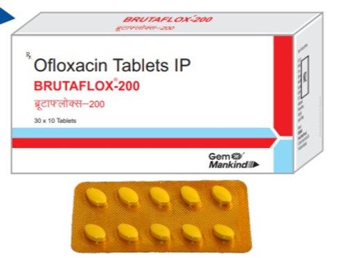 BRUTAFLOX-200 / Ofloxacin Tablets IP