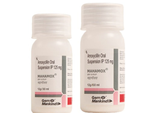 MAHAMOX / Amoxycillin Oral Suspension IP 125mg