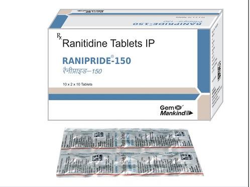 RANIPRIDE-150 / Ranitidine Tablets IP