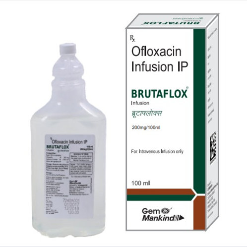 BRUTAFLOX / Ofloxacin Infusion IP