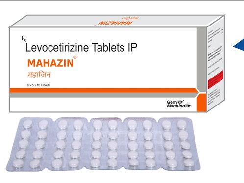 MAHAZIN / Levocetirizine Tablets IP