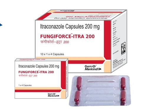 FUNGIFORCE-ITRA 200 / Itraconazole Capsules 200mg