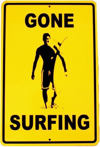 Gone surfing/ Elements Adventures