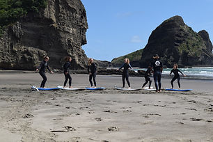 Learn to Surf Piha