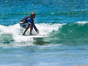 Surfer Piha Surf Academy