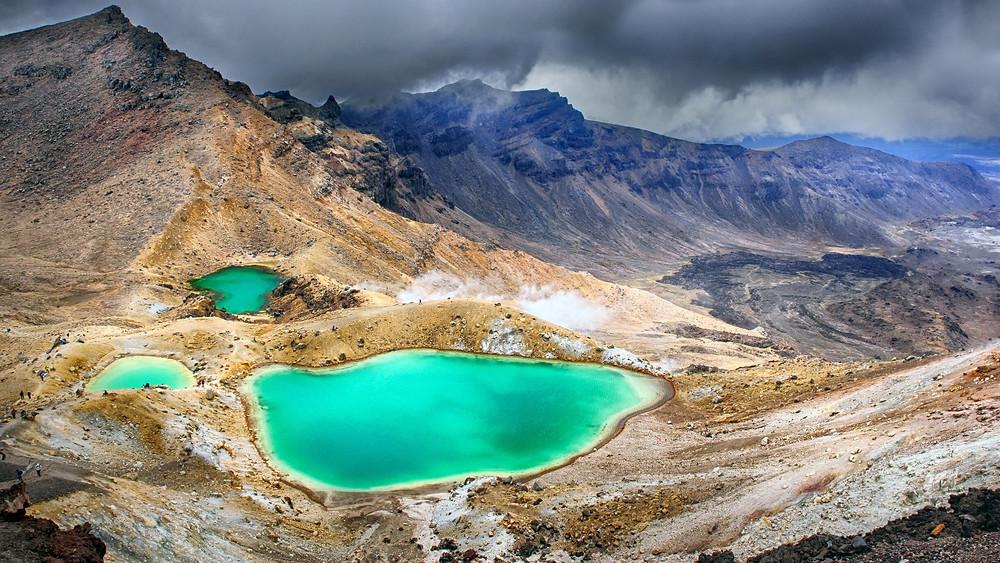 Tongariro national park/ Elements Adventures
