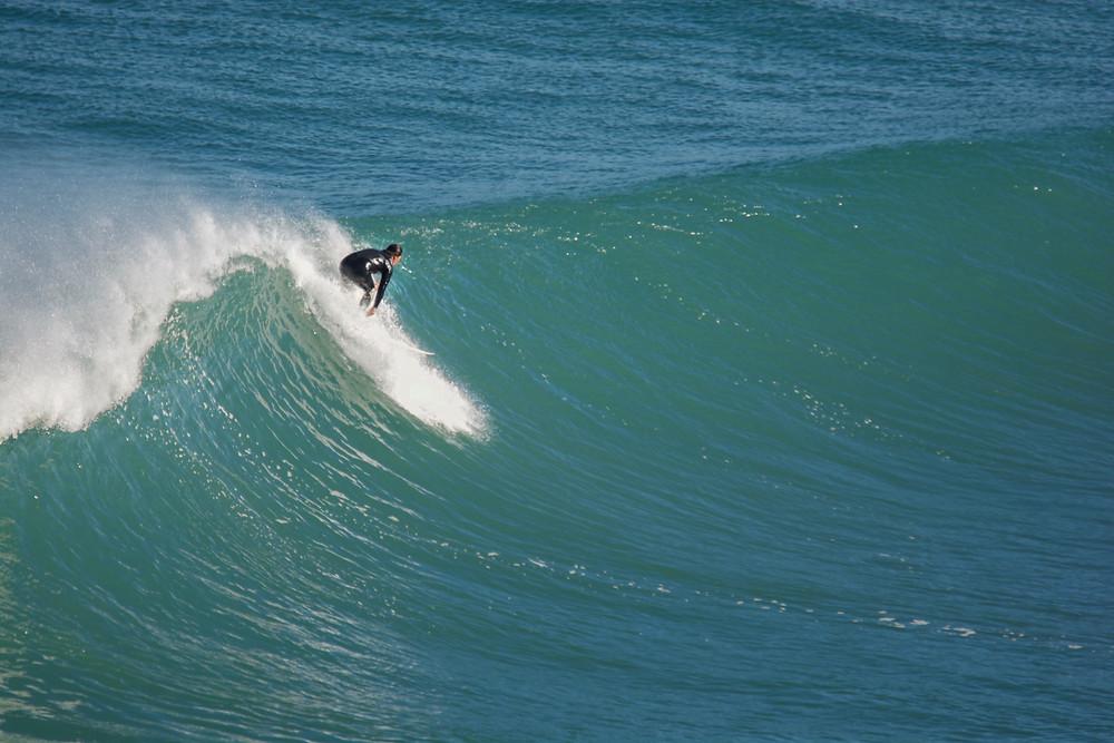 Wave, Instructor, Piha Beach