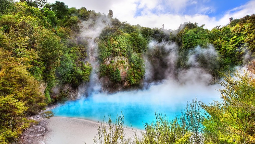 Thermal spring/ Elements world