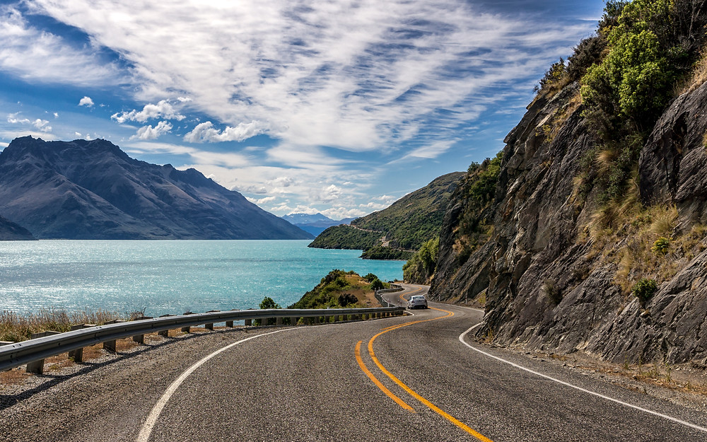 Exploring New Zealand in own campervan or car
