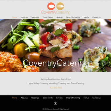 Coventry Catering site home page