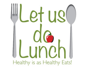 "Logo for ""Let us do Lunch"" lunch prep and delivery service"