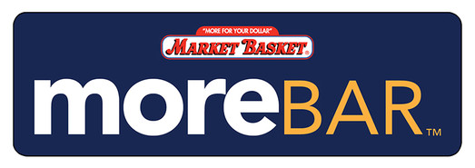 """More Bar"" logo for Market Basket product"