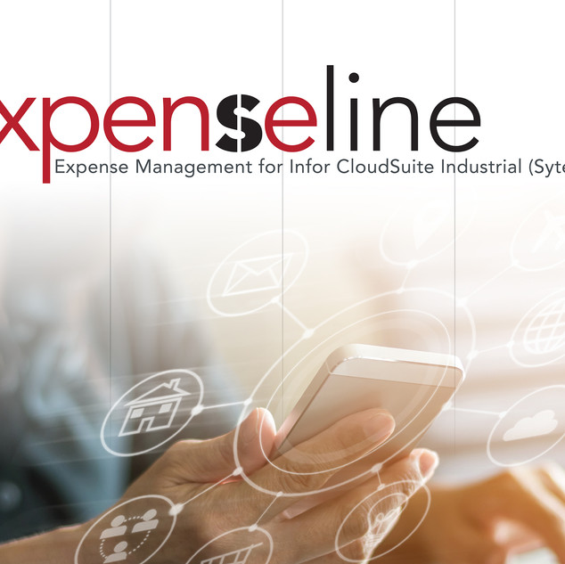 Expenseline booth graphic