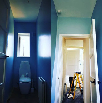 #JFDECOATINGS refreshing a small toilet