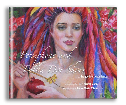 Persephone and Polka Dot Shoes - coffee table book