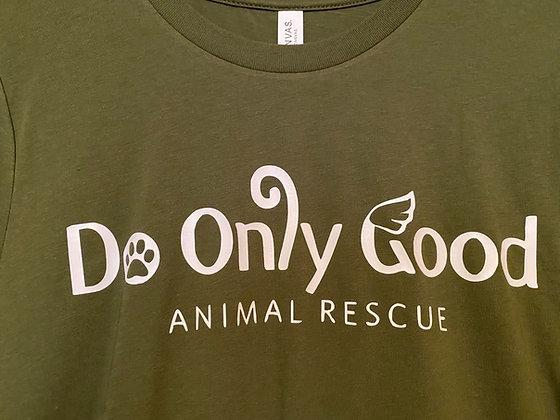 Army Green Short Sleeve T-Shirt