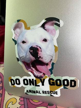 Official Leo DOG Sticker