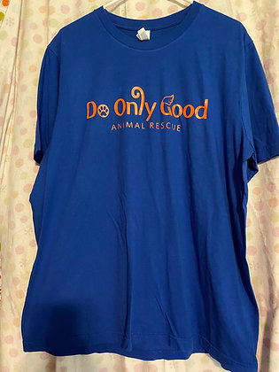 Royal Blue Short Sleeve T-Shirt