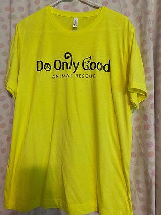 Neon Yellow Short Sleeve T-Shirt