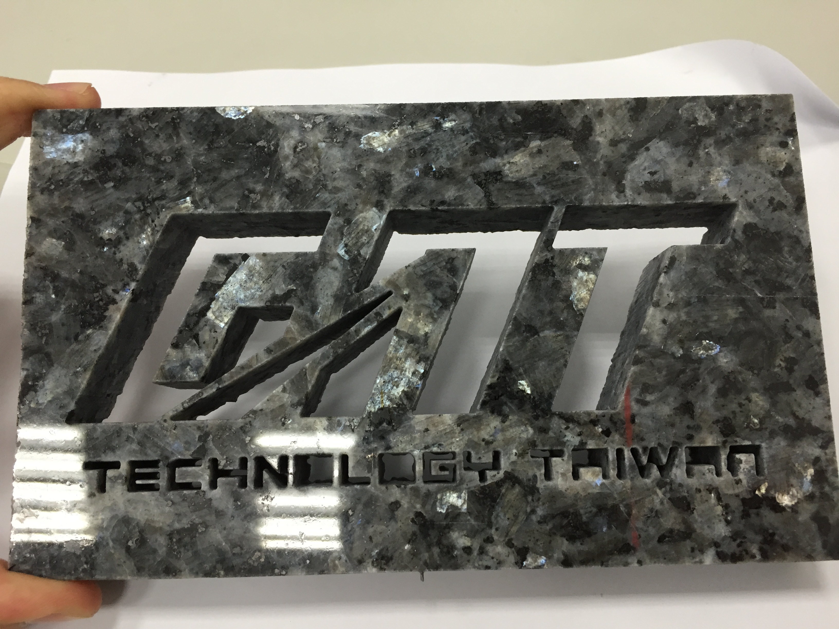 Water Jet Cutting Product - gnt logo