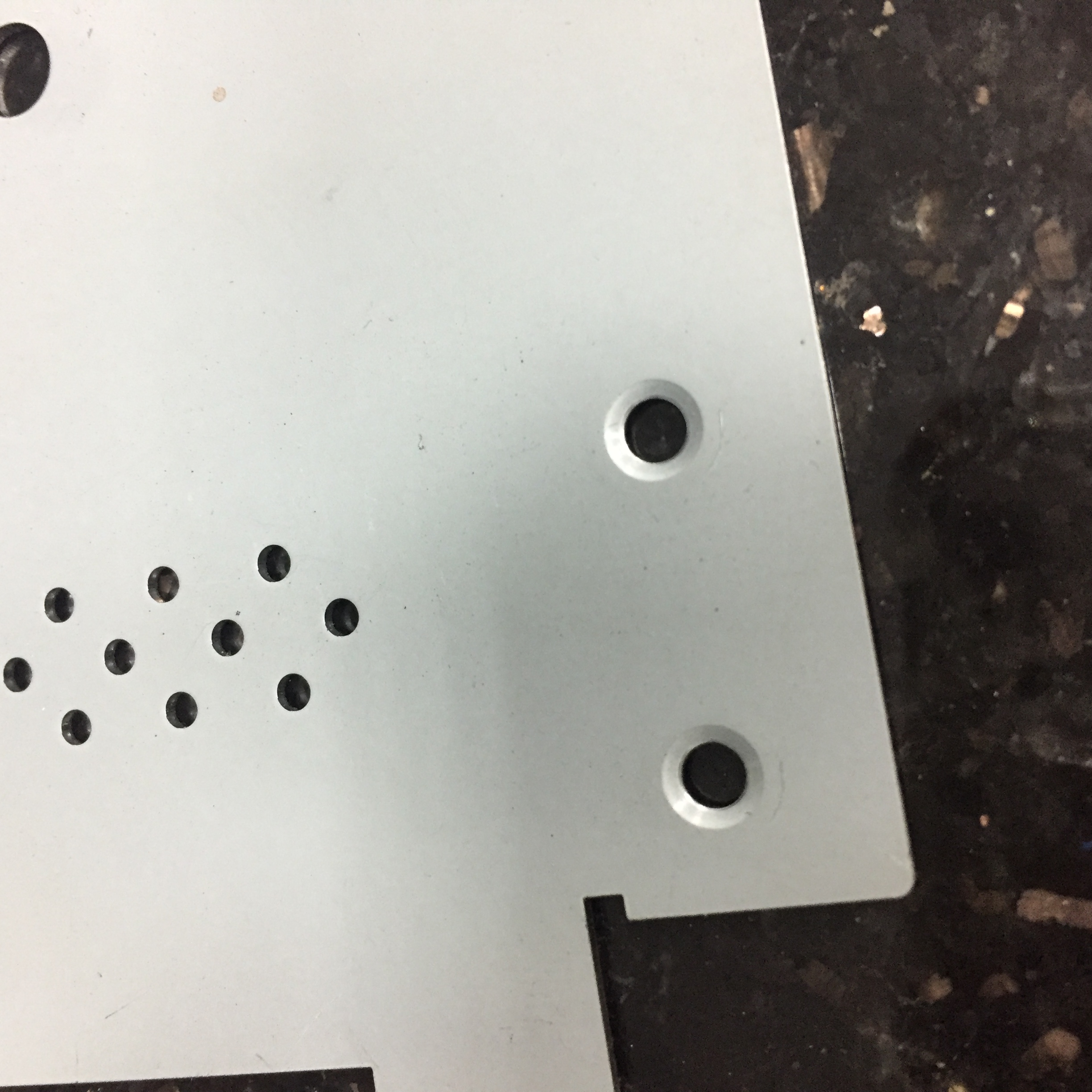 punching and laser sample