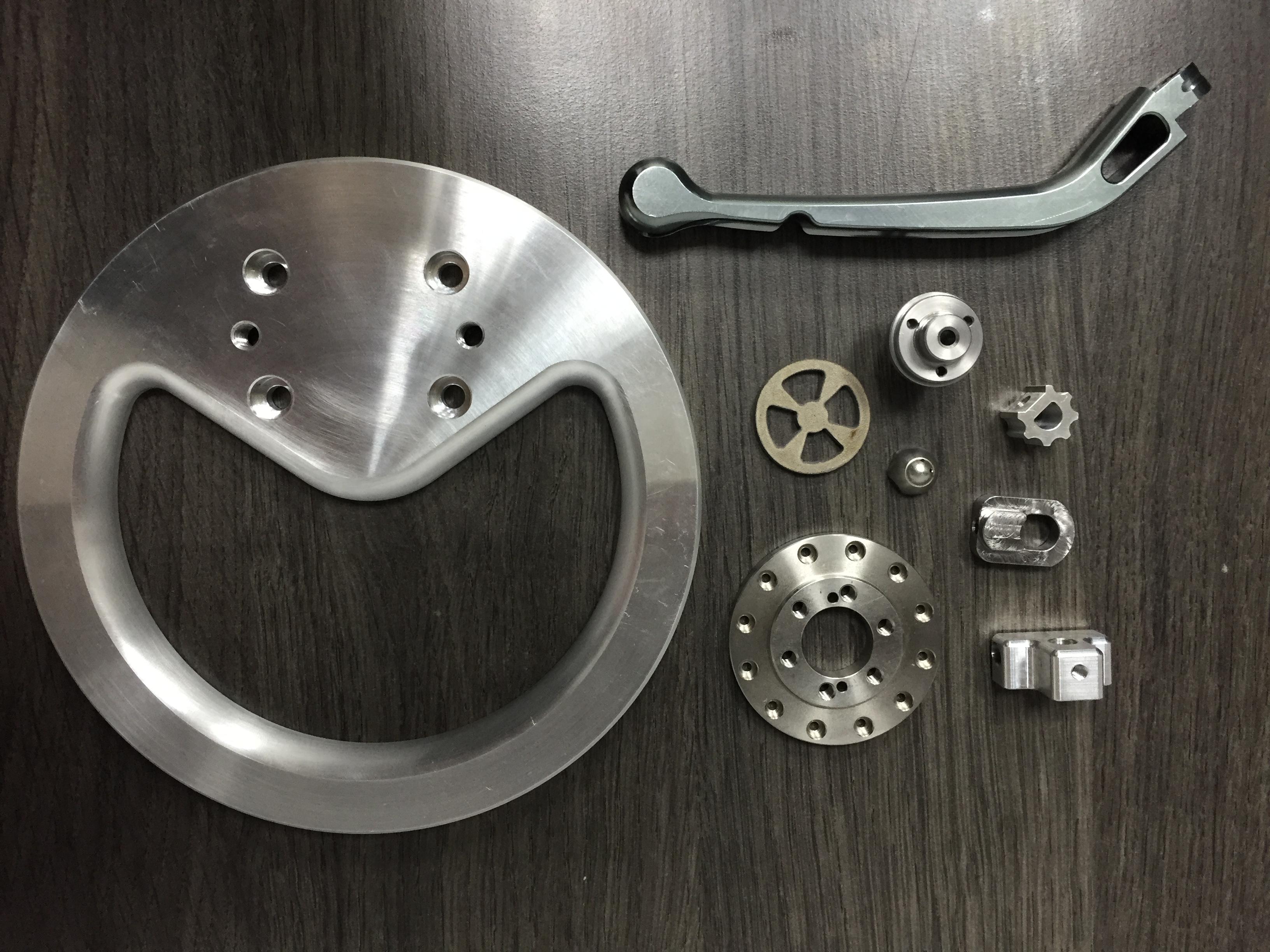 銑車床加工-工件成品