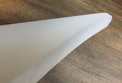 78mm-plexiglass-waterjet cutting