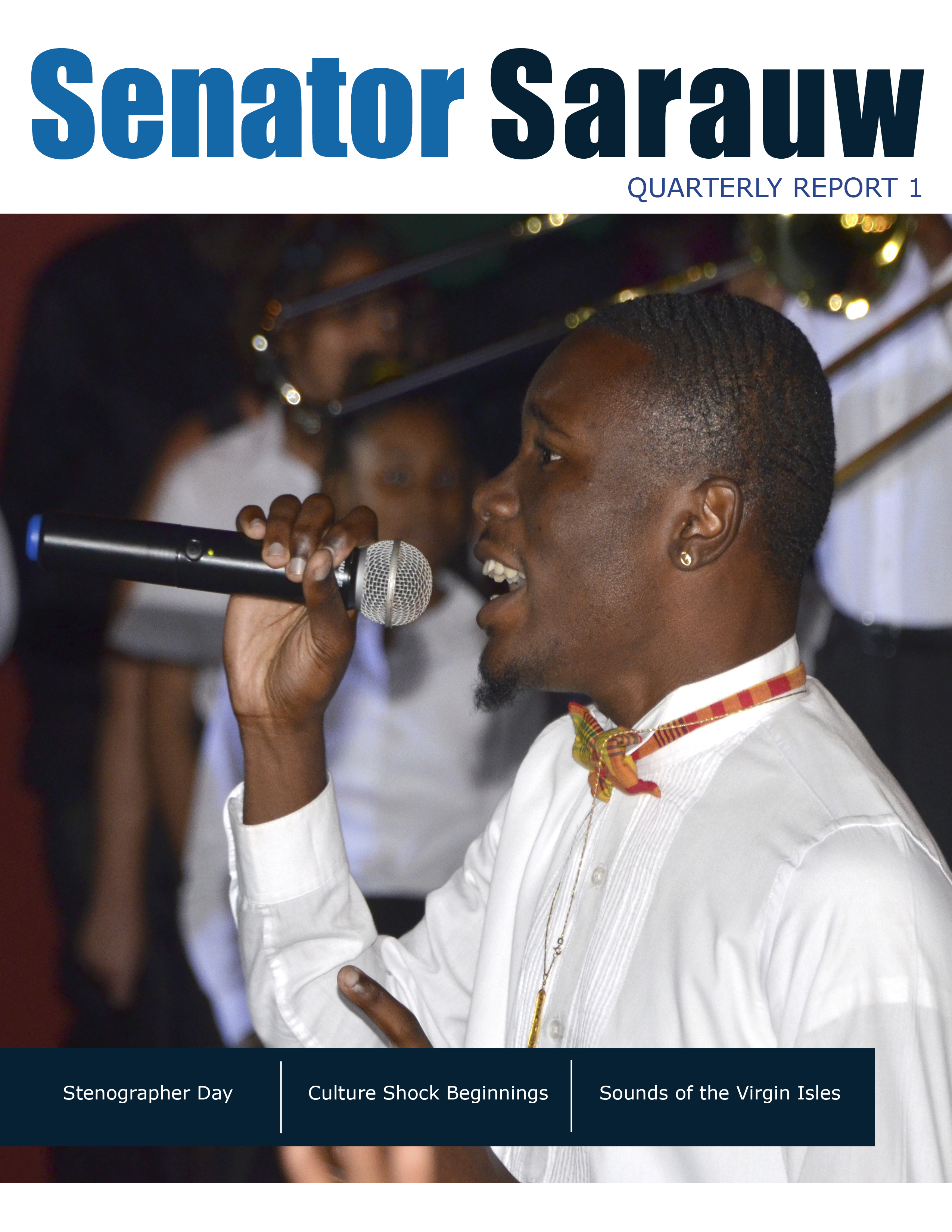 Quarterly Report 1
