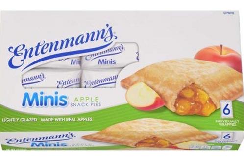 Parve Entenmann's mini apple snack pie