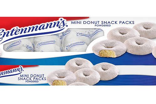 copy of Parve Entenmann's mini donut snack pack - 6 mini donuts